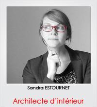 Sandra ESTOURNET, architecte d'intérieur à Chartres
