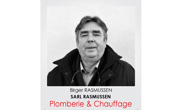Birger RASMUSSEN - Plombier