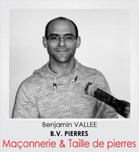 Benjamin VALLEE, tailleur de pierres dans les Yvelines