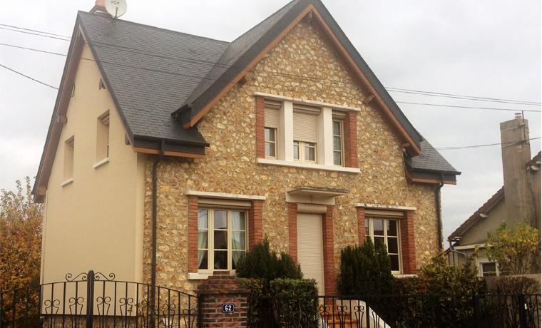 Isolation d une maison par l extrieur isolation du toit for Cout isolation exterieure d une maison