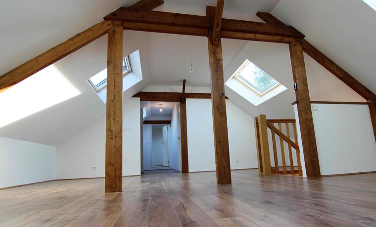 la m tamorphose r ussie d un grenier par lt artisan respire habitat la nouvelle g n ration d. Black Bedroom Furniture Sets. Home Design Ideas