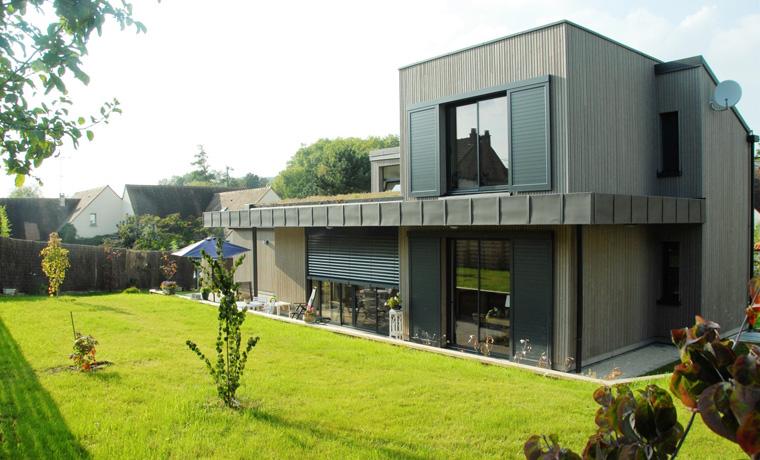 Construction d'une maison ossature bois dans les Yvelines (78)