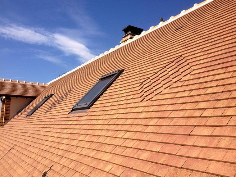 Détail de toiture rénovée dans les Yvelines (78)
