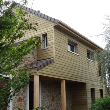 Extension ossature bois - Yvelines 78