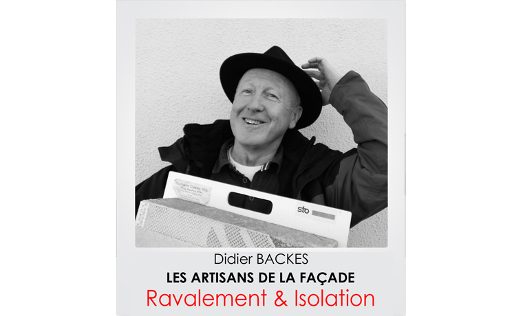 Didier Backes - Artisans de la façade