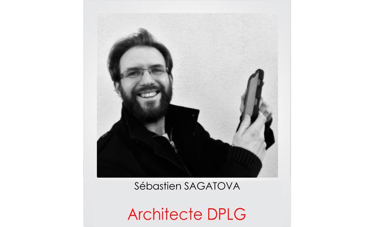 Sébastien SAGATOVA, architecte DPLG dans les Yvelines 78