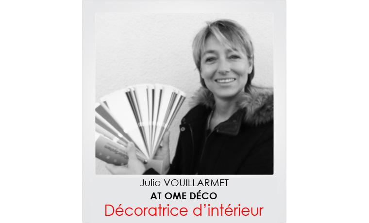 Julie Vouillarmet, décoratrice d'intérieur
