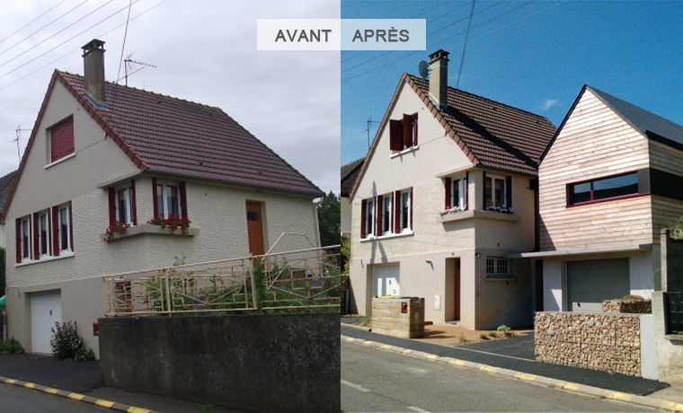 Extension avant/après par Antoine VECCHIO