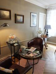 Rénovation d'un salon dans un appartement à Paris par un artisan RESPIRE